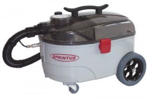 Teppichreinigung mit dem Sprüh-Extraktionsgerät